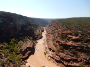Kalbarri river Gorge